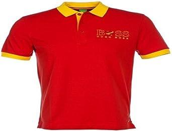 Hugo Boss Hombre Camiseta Polo Paddy de la bandera España 50260461: Amazon.es: Ropa y accesorios
