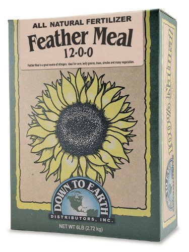 Down To Earth Feather Meal (12-0-0) - 5 (1 Quart Ml)