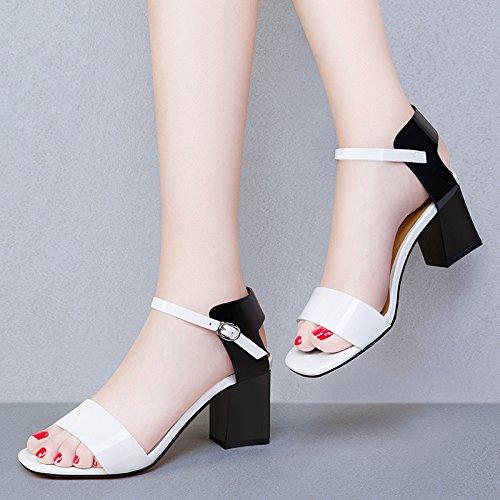 Damen Schuhe HUAIHAIZ Sandalen Abend Heels Tau Sandalen toe Pumps hochhackigen High CfUdxqR