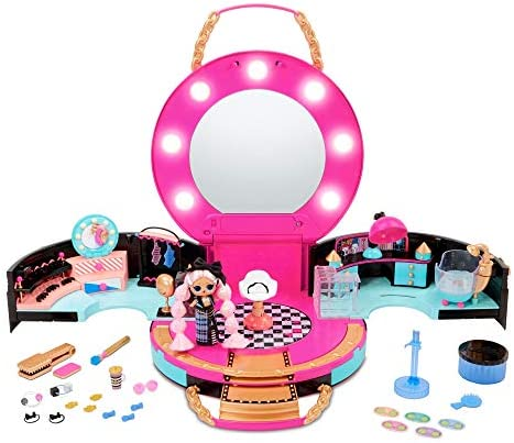 L.O.L. Surprise! Hair Salon Playset with 50 Surprises and Exclusive JK Mini Fashion Doll (571322E7C)