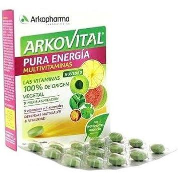 ARKO - ARKOVITAL PURA ENERGIA 30 COMP: Amazon.es: Salud y cuidado personal