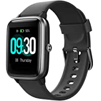 Willful Waterproof Heart Rate Monitor Smart Watches (Black)