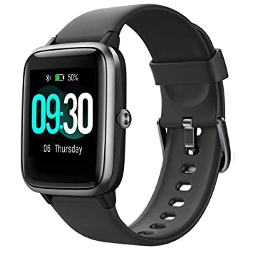 Willful Smart Watch for Android Phones Compatible iPhone Samsung 2019 Version IP68 Swimming Waterprof, Smartwatch Fitness Tracker Fitness Watch Heart ...