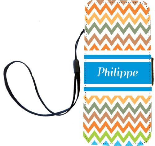 rikki-knight-philippe-blue-chevron-name-flip-wallet-iphonecase-with-magnetic-flap-for-iphone-5-5s-ph