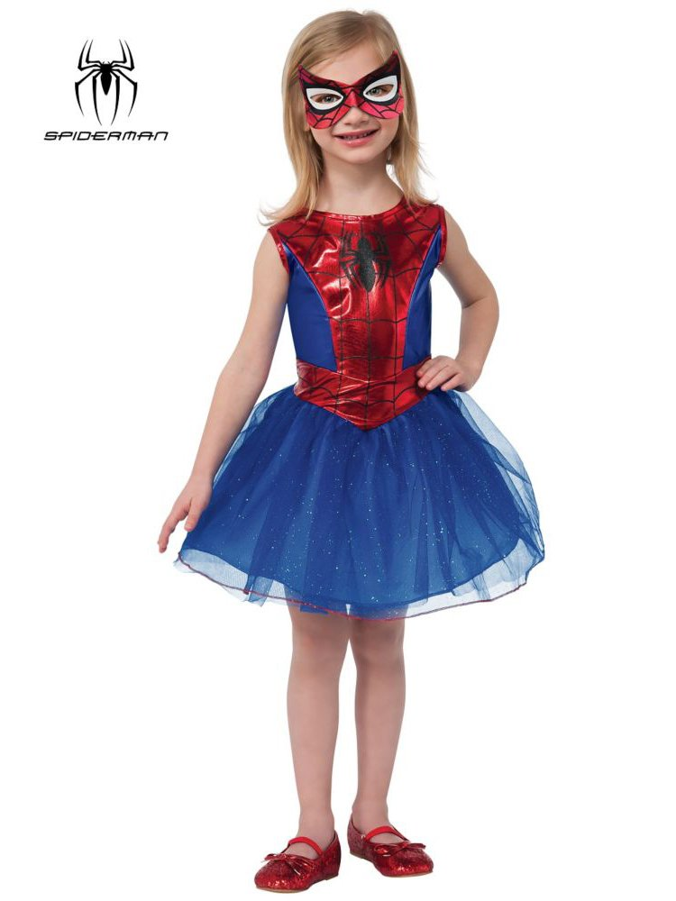 Little Girls Spidergirl Costume - Small