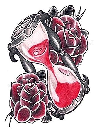 Cuerpo de klebbare temporales tatuaje Tattoo Pegatinas Reloj de ...