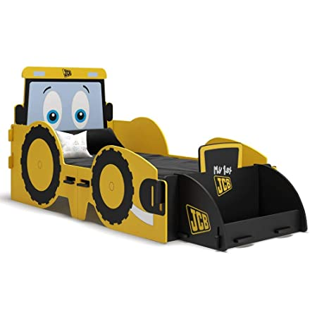 super popular a7912 2e281 JCB Children's Toddler Bed, Happy Beds Yellow Digger Kids ...
