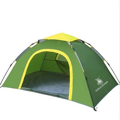 2 personnes poids léger de tente pôle de fibres de verre perméable à l'air antiusure pour la randonnée de camping en plein air