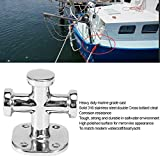 Gorgeri Silver Boat Cleat Open Base Boat Cleat