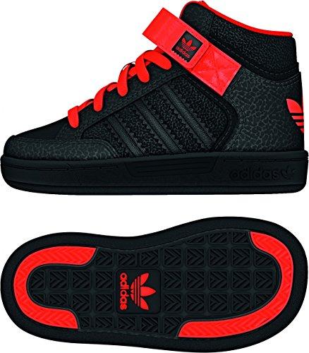 Adidas Varial Mid I - cblack/cblack/solred, Größe Adidas:18
