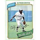 1980 Topps #558 Alfredo Griffin TORONTO BLUE JAYS NRMT