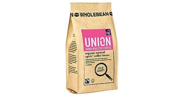 Union Organic Natural Spirit Blend Wholebean Coffee 227 g ...
