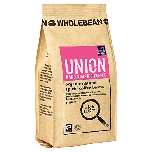 Union Organic Natural Spirit Blend Wholebean Coffee 227 g ...