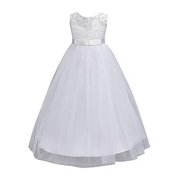 0ffacf663c85c ワンピース キッズ服 Glennoky 6色 レース メッシュドレス お姫様 プリンセス 可愛い お嬢様 ベビー服 子供服