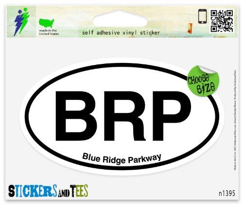blue ridge parkway sticker - 1
