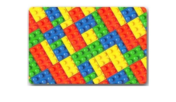 LEGO bloques de colores patrón grande Felpudo de neopreno ...