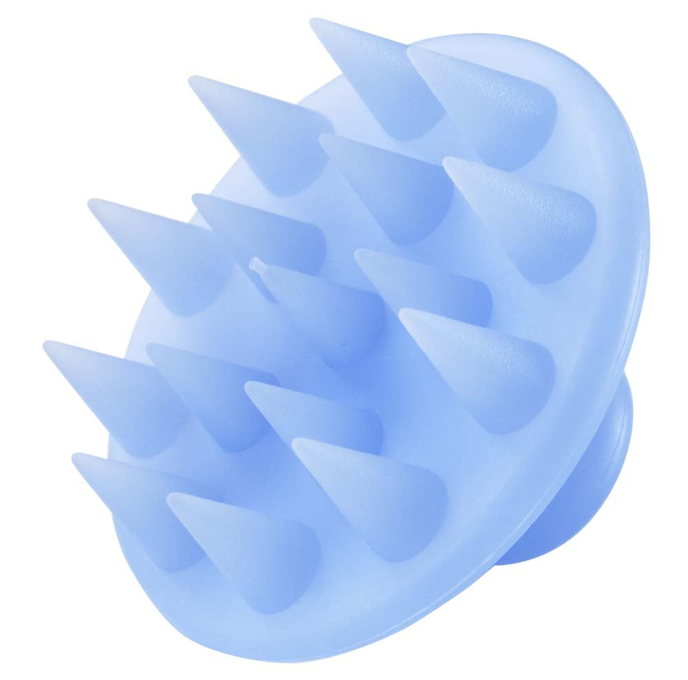 シリコン シャンプーブラシ ブルー 32709