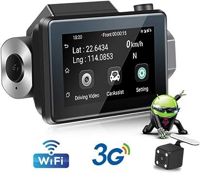 SZKJ K9 Cámara oculta 3G WiFi para salpicadero de coche DVR con ...