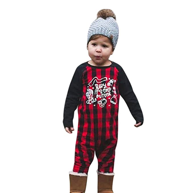 YanHoo Ropa para bebés Traje de otoño e Invierno Mono de Costura de Manga  Larga para 4229b14160e