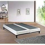 Spinal Solution 4-inch Queen Size Fully Assembled Split Foundation Box Spring for Mattress, Sensation Collection