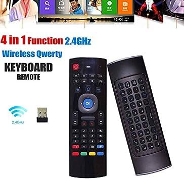 Jinxuny Control Remoto Flying Mx3 4 en 1 Mouse de Aire Teclado Inalámbrico Reemplazo de Bloqueo del Cursor para Android Box Smart TV P Htpc: Amazon.es: Electrónica