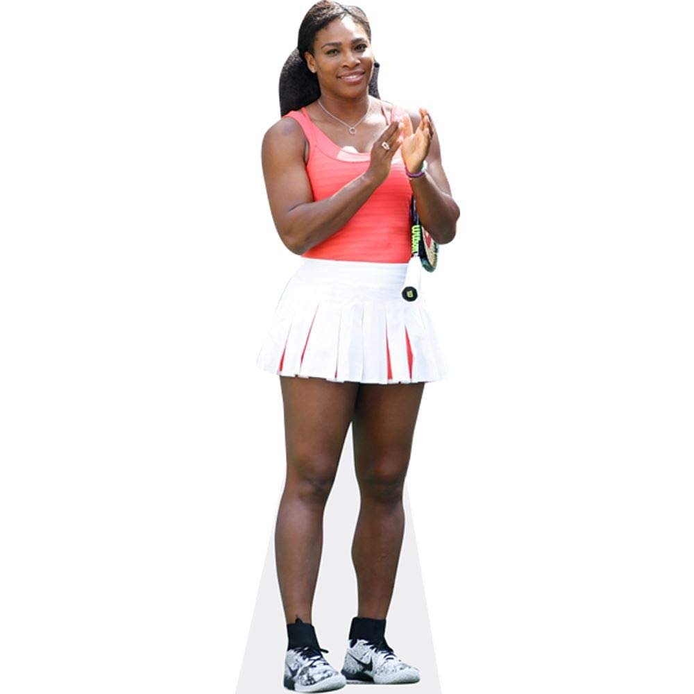 Tennis Outfit Pappaufsteller lebensgross Celebrity Cutouts Serena Williams
