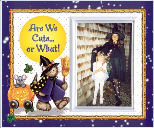 Are We Cute or What? - Halloween Picture Frame -