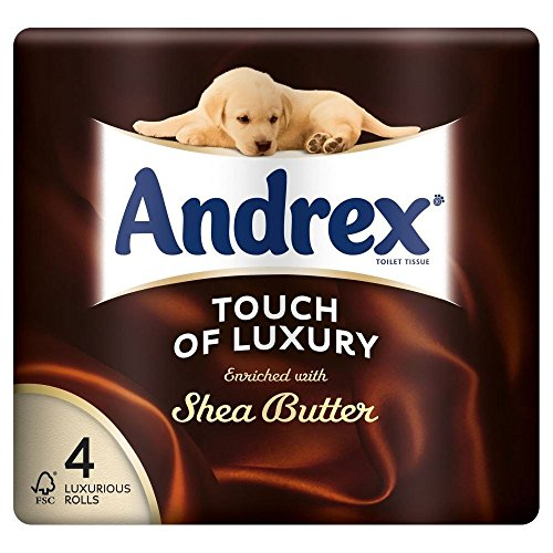 Andrex Touch of Luxury Enriched with Shea Butter Toilet Tiss