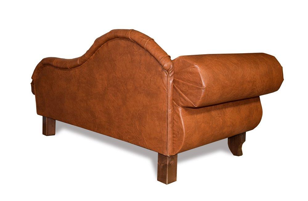 Edy Diseño ED de prnb1 Perros sofá Paris Recamiere Chesterfield Antiguo Brandy, XXL: Amazon.es: Productos para mascotas