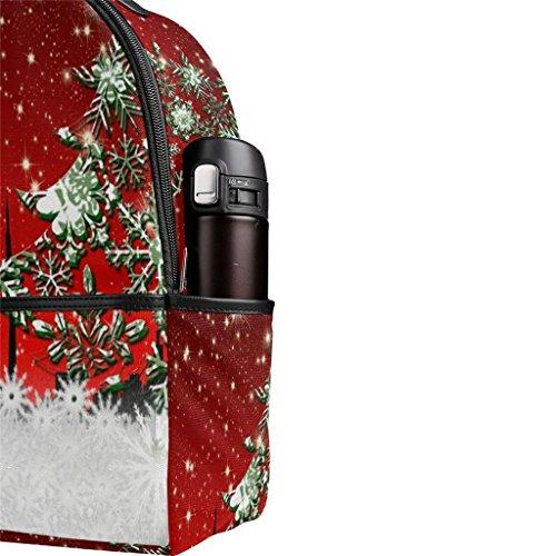BeiBao Multi en Sac de Toile Sac étudiant Shopping Enfants Voyage Poche Noël Vacances de Cadeau de Fonctionnel Double à bandoulière Sac école qrOq0
