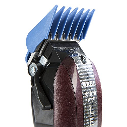 """Wahl Professional 8 Color Coded Cutting Guides with Organizer #3170-400 – Great for Professional Stylists and Barbers – Cutting Lengths from 1/8"""" to 1 by Wahl Professional (Image #6)"""