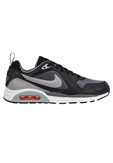 b5731143d6f90 Amazon.com | Nike Air Max Trax Cool Grey / Silver / Black Running ...