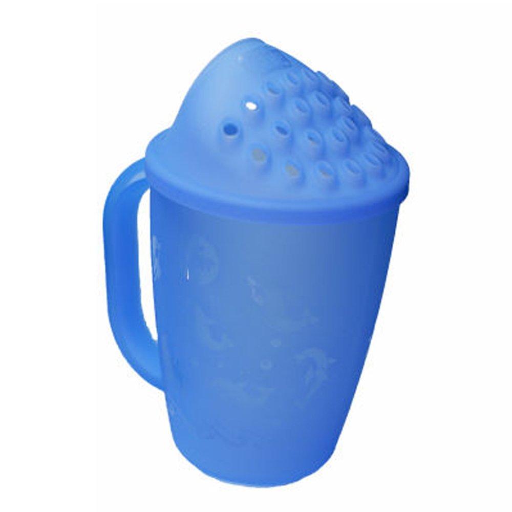 Kair bebé/del pelo de los niños Wash Champú Aclarado Copa -azul Eyeshield Bath KRC-BLUE