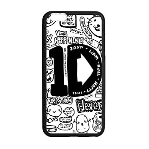 Customize TPU Gel Skin Case Cover for iphone 6+, iphone 6 plus Cover (5.5 inch), One Direction hjbrhga1544