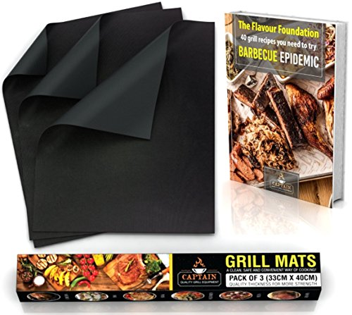 SILICONE BBQ GRILL Recipe eBook product image