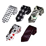 DANF0007 Multiple Types Stain Perfection Boys Slim Neck Ties - 5 Styles Available By Dan Smith