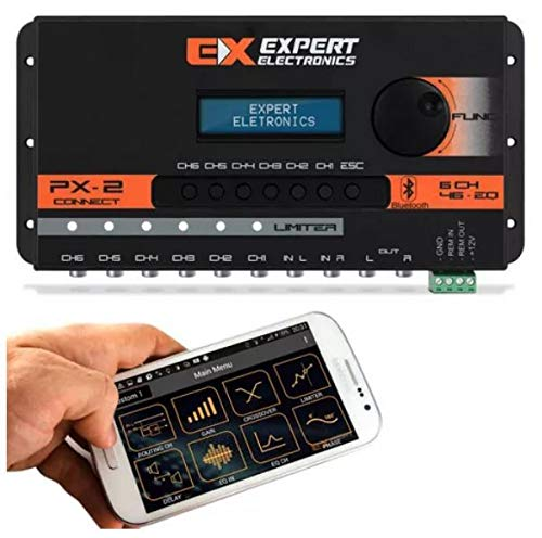 Banda Expert Electronics PX2 Connect 6 Way, Equalizer 46 Band Sound Processor