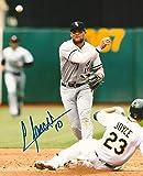 Signed Yoan Moncada Photo - 8x10 COA A - Autographed MLB Photos