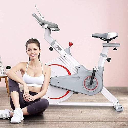 ZT-TTHG 屋内エアロバイクスピニングサイクリング自転車文房具W/LCDディスプレイ心拍フットフィットネス機器