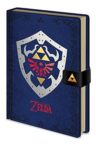 Pyramid International A5 The Legend Of Zelda  Hylian Shield  Notebook