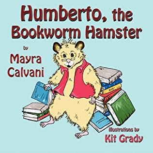 book cover of Humberto, the Bookworm Hamster