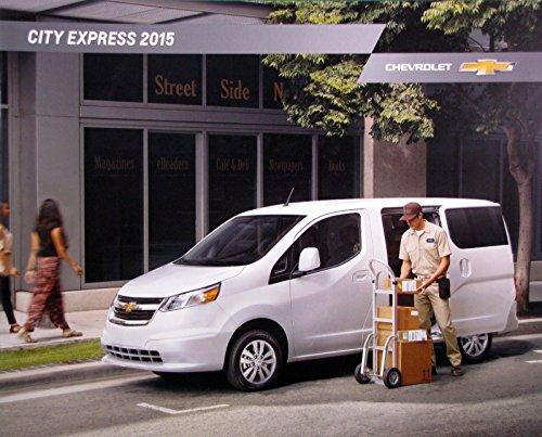 Chevrolet Cargo Vans (2015 Chevrolet City Express cargo van new vehicle brochure)