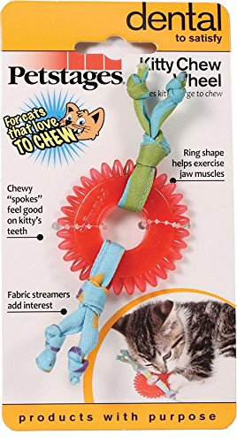 Petstages Dental Kitty Chew Wheel, 5