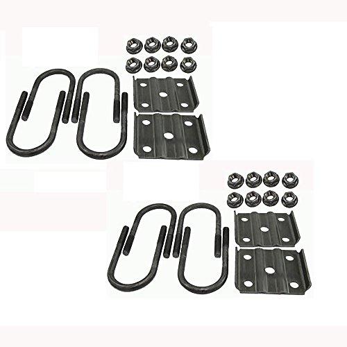 (2) New Trailer U Bolt Kits for 3500lb Axles 2-3/8