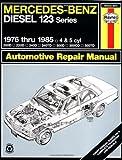 img - for Mercedes Benz Diesel Automotive Repair Manual: 123 Series, 1976 thru 1985 (Haynes Repair Manual) book / textbook / text book