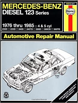 mercedes benz diesel automotive repair manual 123 series