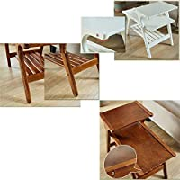 Virod-Home Mesa Auxiliar de Oficina con Escalera, Mesa de café de ...