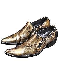 2 Color Size 5-12 Comfort Designer Leather Mens Slip On Dress Party Loafer Shoes