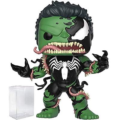 Marvel: Venom - Venomized Hulk Funko Pop! Vinyl Figure (Includes Compatible Pop Box Protector Case): Toys & Games