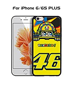 Cool Funda Case for IPhone 6 6s Plus (5.5 inch) Brand Logo Valentino Rossi Logo Drop Proof Rugged Anti Slip Durable High Impact Extra Slim